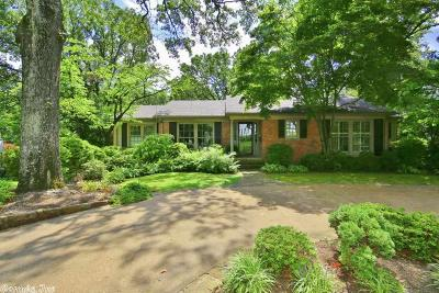 Little Rock Single Family Home For Sale: 123 Normandy Road
