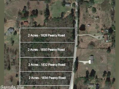 Garland County Residential Lots & Land For Sale: 1830 Pearcy Road