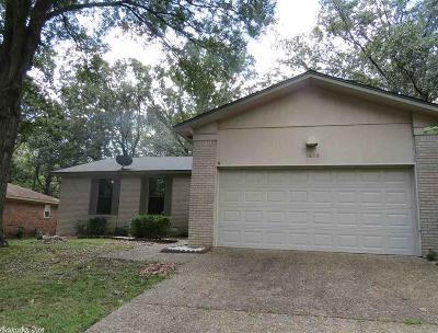 North Little Rock Single Family Home New Listing: 1608 Saratoga