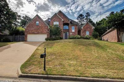 Little Rock Single Family Home New Listing: 3 Chenay Drive