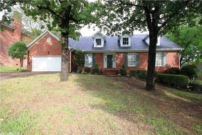 Little Rock Single Family Home New Listing: 4201 Bear Tree Drive