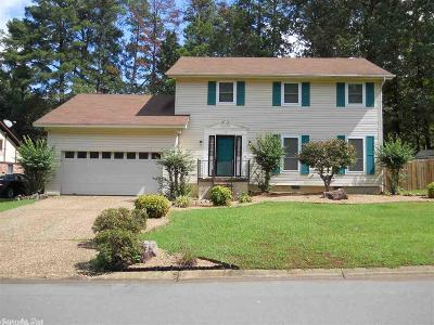 Little Rock Single Family Home For Sale: 15 Pear Tree Place