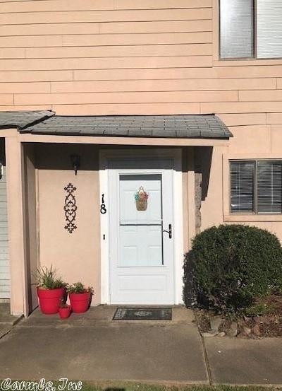 Maumelle Condo/Townhouse For Sale: 18 Edgehill Cove