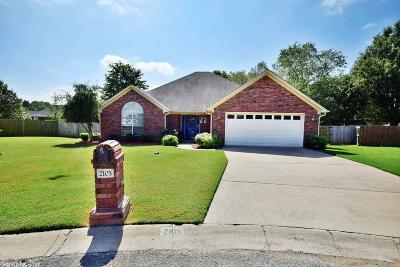 Conway Single Family Home Price Change: 2105 Maplewood Drive