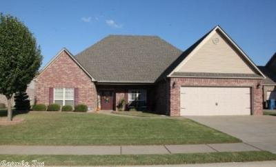Bryant Single Family Home For Sale: 3404 N Crescent Drive