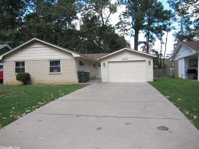 Little Rock Single Family Home For Sale: 6432 Tulip Road