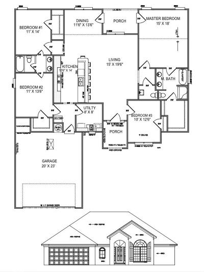 Conway Single Family Home For Sale: 1145 Country Club