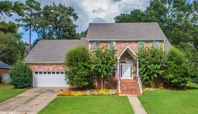 Maumelle Single Family Home For Sale: 5 Crystal Mountain Drive