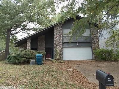 Little Rock Single Family Home New Listing: 10703 Warren Drive
