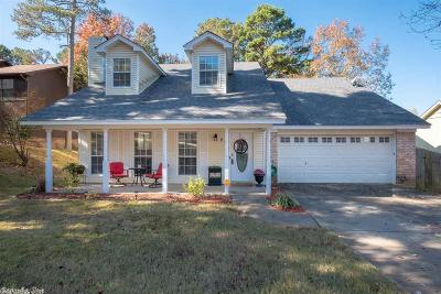 Maumelle Single Family Home Price Change: 59 Vantage Drive