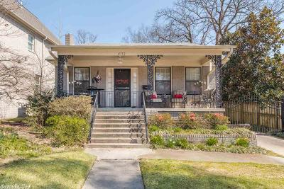 Little Rock Single Family Home New Listing: 4712 Kavanaugh Boulevard