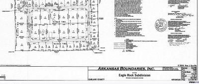 Garland County Residential Lots & Land New Listing: Lot 43 Eagle Rock