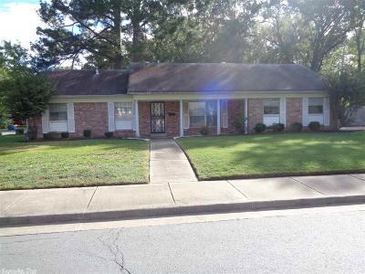 Little Rock Single Family Home New Listing: 6801 Verbena Drive