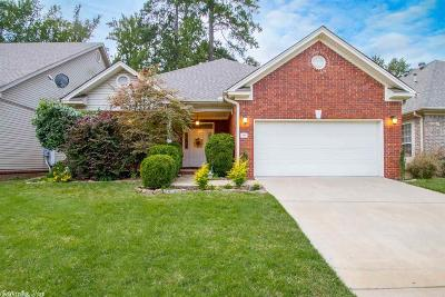 Little Rock Single Family Home New Listing: 39 Courtside Drive