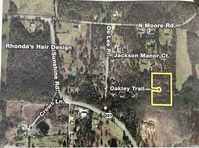 Garland County Single Family Home New Listing: Oakley Trail