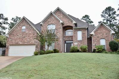 Little Rock Single Family Home Take Backups: 3 Chenay Drive