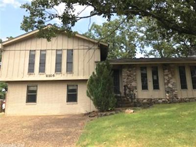 North Little Rock Single Family Home Under Con. Before Listed: 2105 Osage