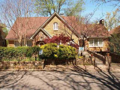Little Rock Single Family Home For Sale: 3812 Oakwood Road