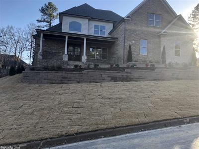 Pulaski County, Saline County Single Family Home Price Change: 94 Ranch Ridge Road