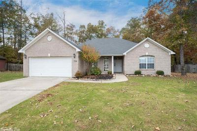 Bryant Single Family Home For Sale: 1708 Pleasant Pointe Circle