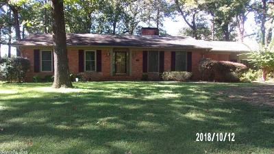 Pine Bluff Single Family Home New Listing: 21 W Southern Pines Drive