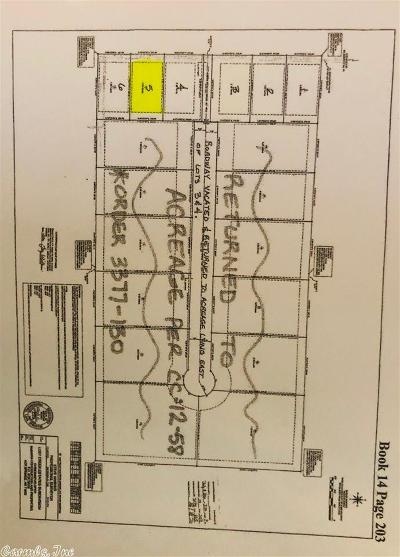 Garland County Residential Lots & Land For Sale: Lot 5 Pearcy Road