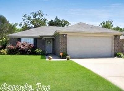 Conway AR Single Family Home Back On Market: $107,000