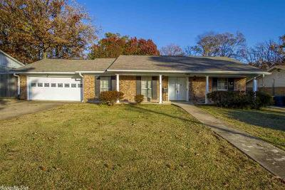 Little Rock Single Family Home New Listing: 1509 Breckenridge Drive