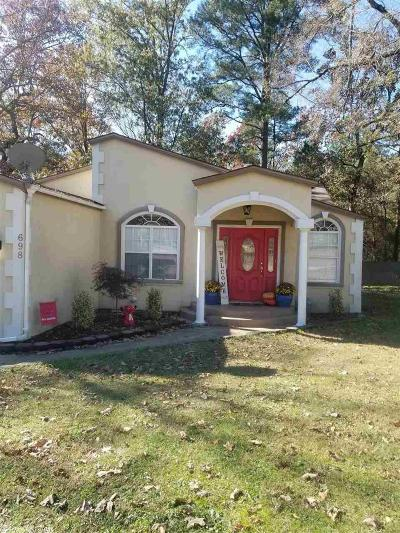 Garland County Single Family Home New Listing: 698 Walkway Drive