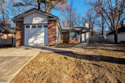 Maumelle Single Family Home Take Backups: 18 Oak Ridge Drive