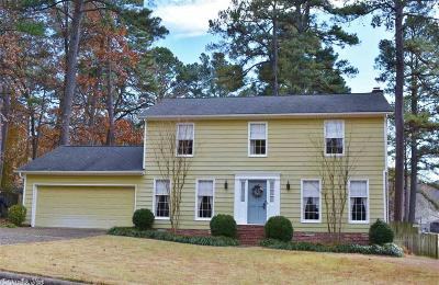 Little Rock Single Family Home For Sale: 1 Coventry Lane