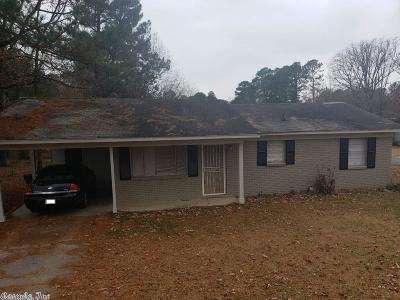 Little Rock AR Single Family Home For Sale: $56,000