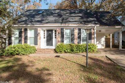 Little Rock Single Family Home New Listing: 7816 Delray Drive