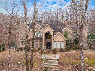Pulaski County, Saline County Single Family Home New Listing: 108 Bald Eagle Drive