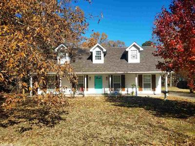 White Hall AR Single Family Home Back On Market: $164,000