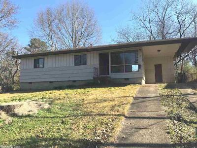 Little Rock AR Single Family Home New Listing: $54,000