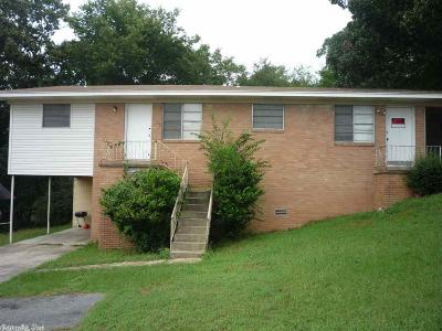 North Little Rock Multi Family Home New Listing: 127 W 47th