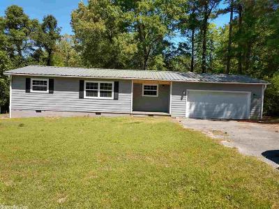 Pulaski County, Saline County Single Family Home For Sale: 1018 Cemetery