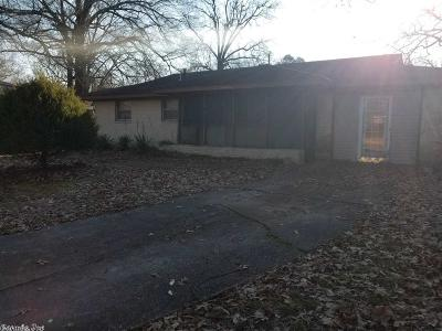 Pine Bluff Single Family Home For Sale: 17 Lily Cove