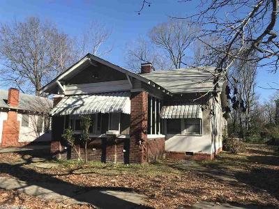 Pine Bluff Single Family Home For Sale: 1609 S Poplar St.