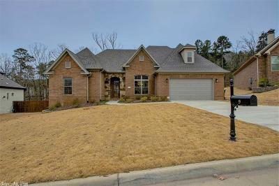 Little Rock Single Family Home Price Change: 9 Rosans Court