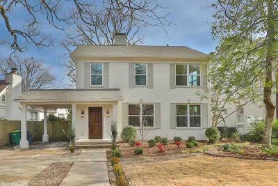 Little Rock Single Family Home For Sale: 1715 N Spruce Street