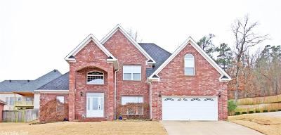 Maumelle Single Family Home New Listing: 11 Mountain Ridge Cove