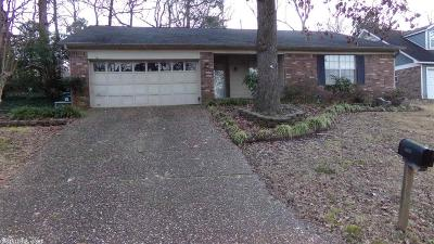 Little Rock Single Family Home Price Change: 11911 Shawnee Forest Drive