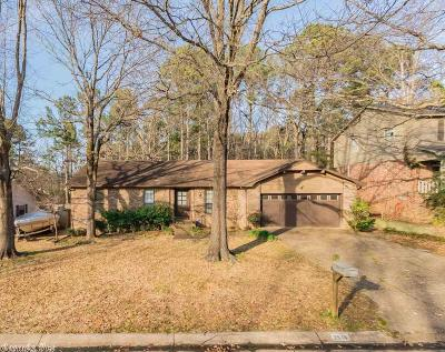 Little Rock Single Family Home New Listing: 2516 Grist Mill Road