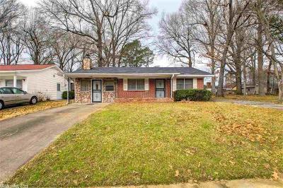 Pine Bluff Single Family Home Price Change: 3404 S Virginia Street