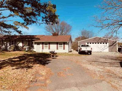 Faulkner County Single Family Home New Listing: 154 Beaverfork Road
