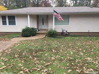Hot Springs AR Single Family Home New Listing: $145,000