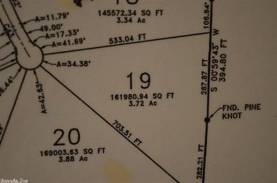 Garland County Residential Lots & Land For Sale: Lot 19 Alydar