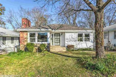 Garland County Single Family Home New Listing: 306 Oaklawn St